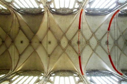 Gewölbe Prag St. Veit fehlende Gurte