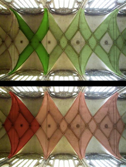 Gewölbe Prag St. Veit Versatz Musterbausteine